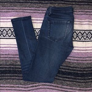 Lo Rise Skinny Jeans
